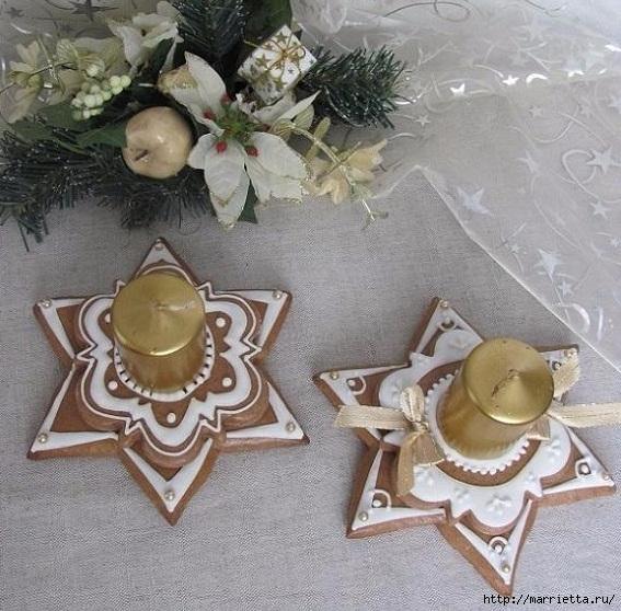 Рождественские пряники. Красивые идеи (41) (567x558, 237Kb)