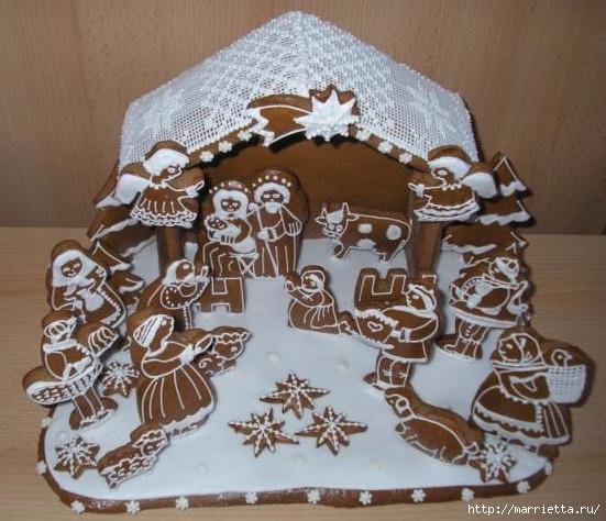 Рождественские пряники. Красивые идеи (54) (551x474, 196Kb)