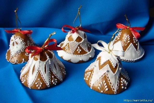 Рождественские пряники. Красивые идеи (60) (640x428, 148Kb)