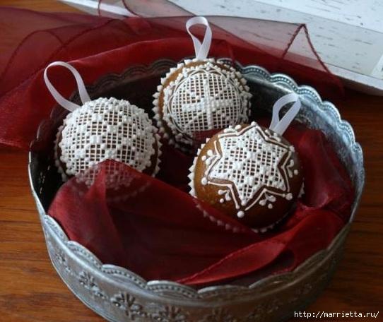 Рождественские пряники. Красивые идеи (63) (542x456, 158Kb)