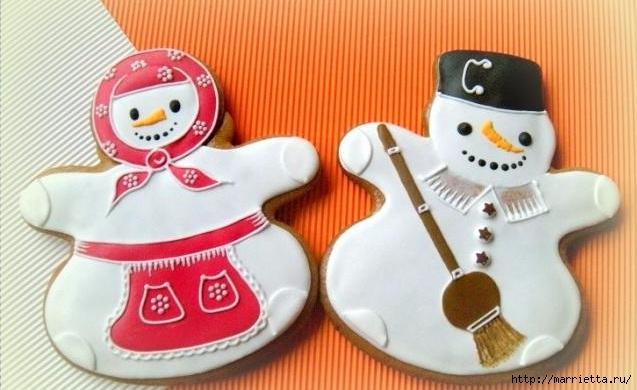 Рождественские пряники. Красивые идеи (72) (637x390, 155Kb)