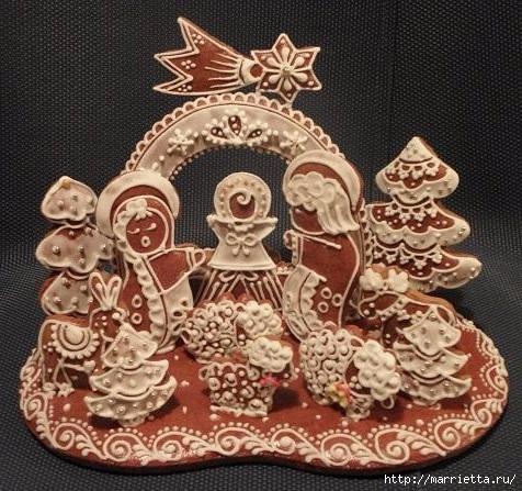 Рождественские пряники. Красивые идеи (2) (476x447, 195Kb)