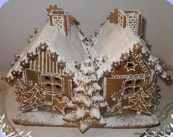 Рождественские пряники. Красивые идеи (10) (559x441, 158Kb)