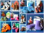 Сувениры из шерсти к новому году