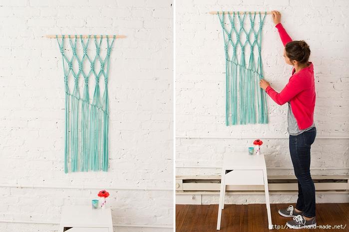 手工绳结编织教程:绳结与流苏 一、装饰 - maomao - 我随心动