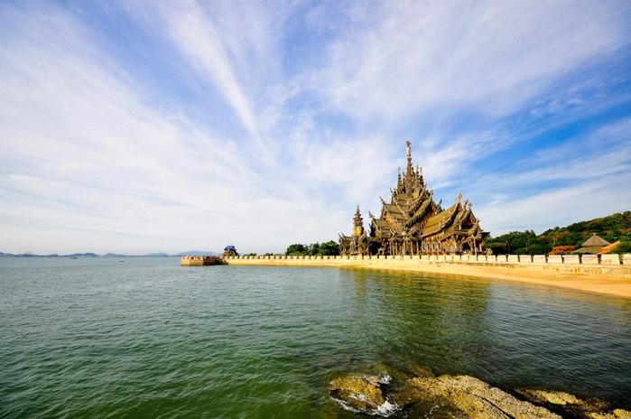 Храм истины в Паттайе, Тайланд (21) (700x464, 320Kb)