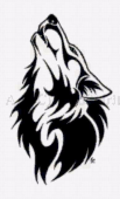 тату волк 16 цв (387x640, 126Kb)