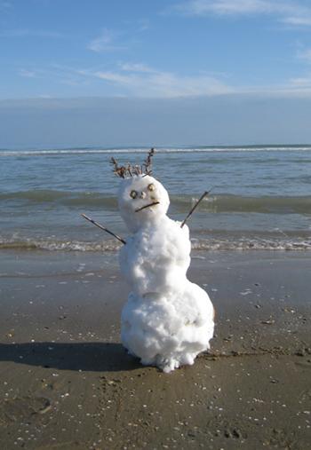 alt=снеговик на море1 (350x507, 157Kb)