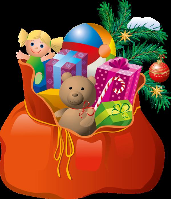 Новогодние подарки в картинках для детей 98