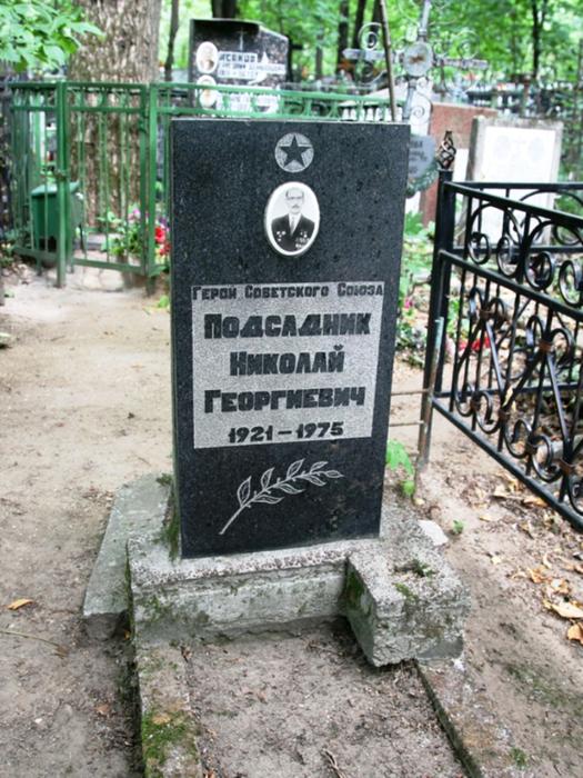 участок на преображенском кдадбище где похоронят баталова несмотря название