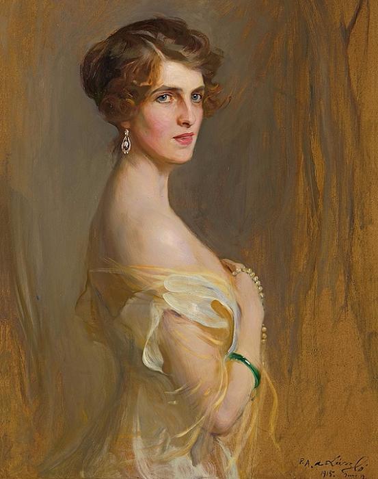 1915_Портрет виконтессы Чаплин, урожденной Глэдис Уилсон (Viscountess Chaplin, nee the Hon. Gwladys Wilson) (553x700, 402Kb)