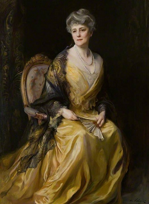 Герцогиня Портленд,1912. Lady Jane Muir Coats, née Greenlees, of Ballathie (514x700, 312Kb)