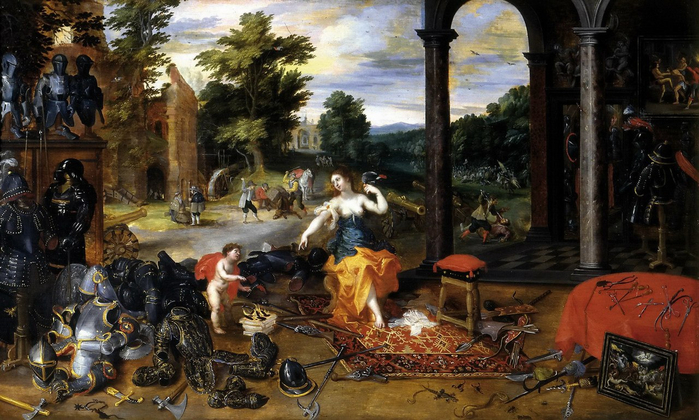 Аллегория войны (совм. с Хендриком ван Баленом) (Авиньон, Музей Кальве) (700x420, 386Kb)