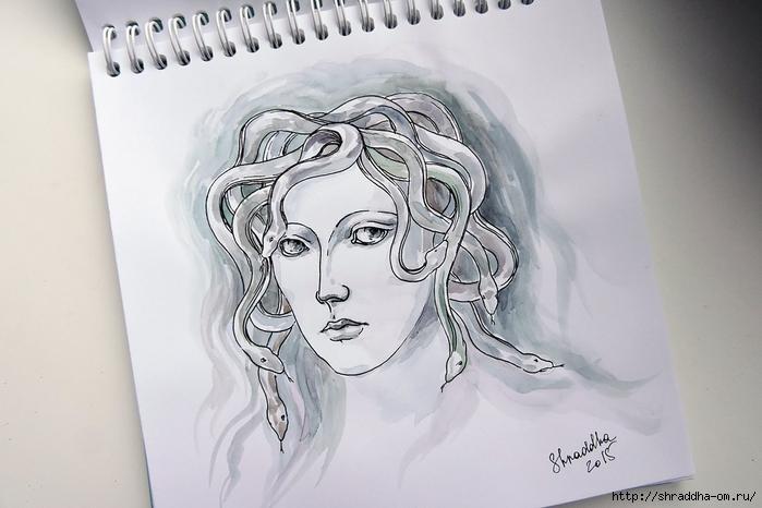 Медуза Горгона от Shraddha (1) (700x466, 213Kb)