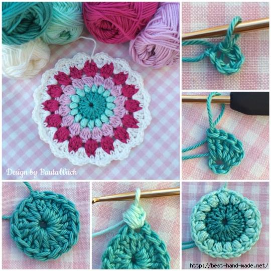Красота крючком вязание 29