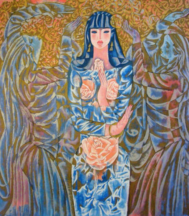GODDESS OF THE ROSES. 1997 (612x700, 568Kb)
