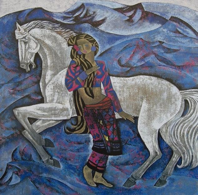 White Horses (635x626, 536Kb)