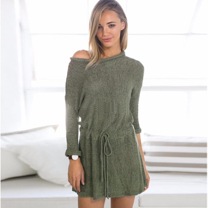 Новинка-2015-женщин-осень-зима-одежда-шикарный-сексуальный-вязаный-свитер-платье-осень-армия-зеленый-одно-плечо (700x700, 269Kb)