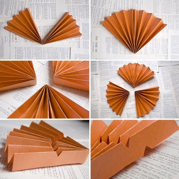 Бумажные фанты из бумаги