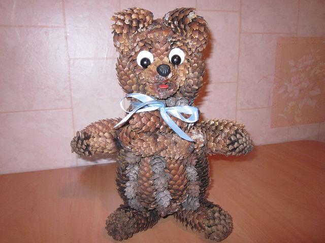 Медведь своими руками поделка из 902