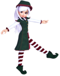 ������ Christmas Elf 13 (336x420, 92Kb)