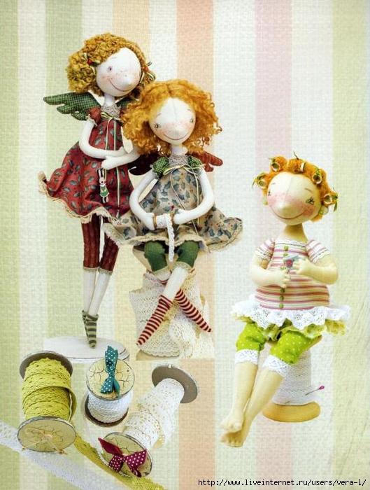 Авторские интерьерные куклы мастер класс
