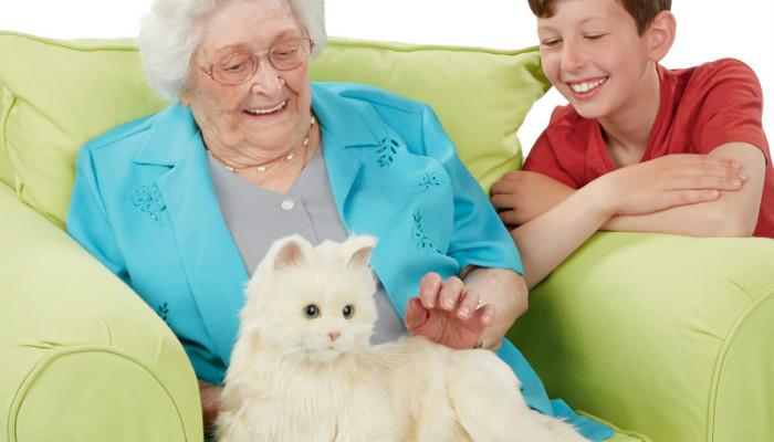 электронный кот Joy For All 2 (700x400, 172Kb)