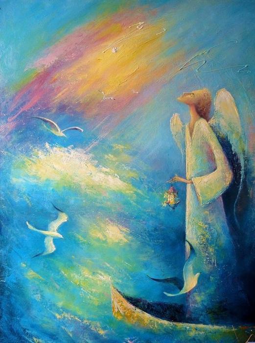 Моисеева Лиана - Белый ангел (521x700, 142Kb)