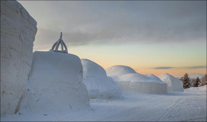 ледяной отель в лапландии 2 (700x414, 295Kb)