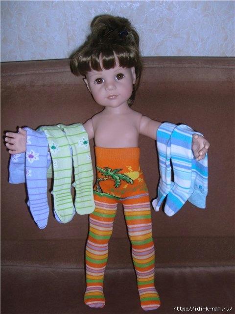 Куклы из колготки своими руками