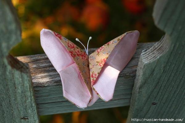 Текстильные бабочки для украшения волос (1) (600x400, 135Kb)