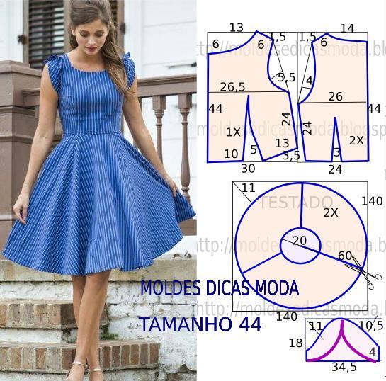 Как сшить из летнего платья юбку 175