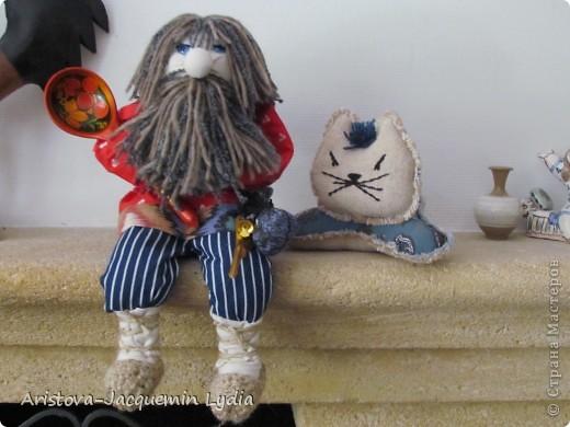 Как сделать  куклу домового