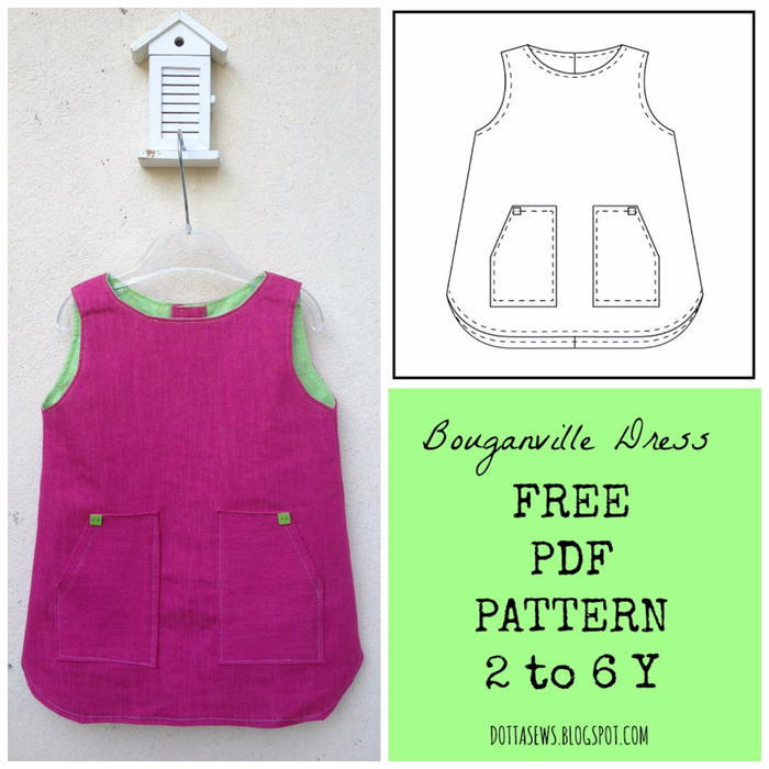 Bouganville Dress PDF Pattern (350x350, 352Kb)