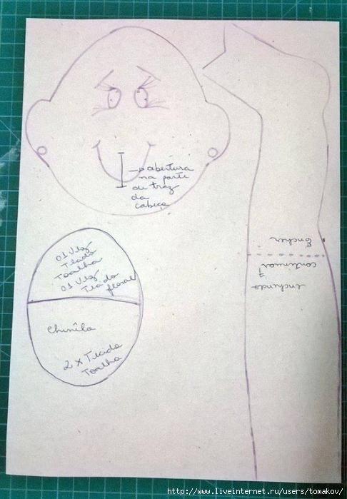Выкройка кукла держатель для туалетной бумаги своими руками мастер класс 35