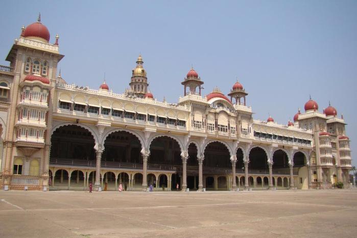 майсурский дворец индия 4 (700x466, 269Kb)