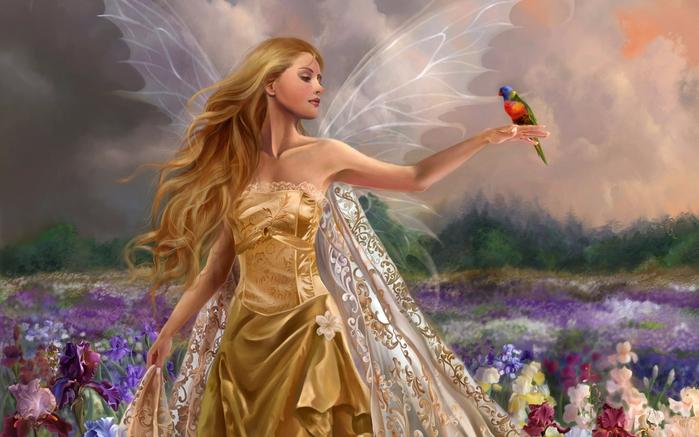 dziewczyna-fairy-fantasy-z-papuga-2800x2100 (700x437, 355Kb)