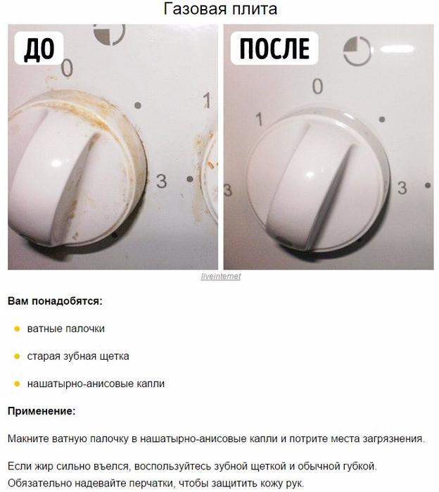 10 хитростей по уборке дома без химии (624x700, 284Kb)
