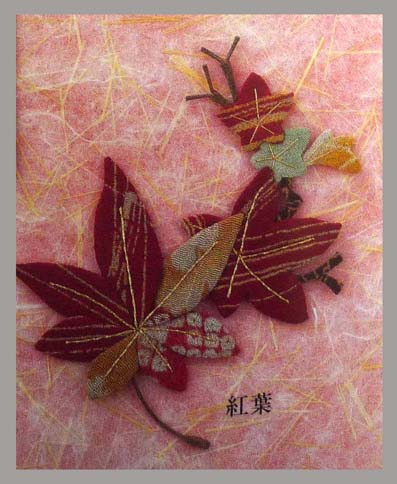 Цветочная аппликация от китайских мастериц (16) (397x484, 192Kb)