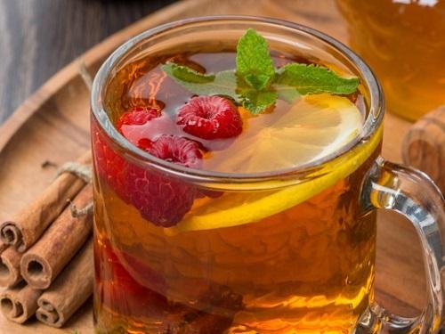 мятный чай для похудения на ночь
