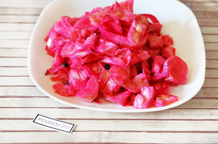 капуста красная по корейски рецепт