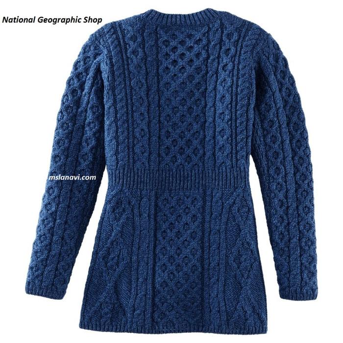 Вязаный-жакет-спицами-от-National-Geographic-Shop-синий (700x700, 459Kb)