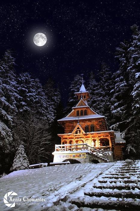 023_Wooden Church, Jaszczorowka near Zakopane, Poland (466x700, 398Kb)