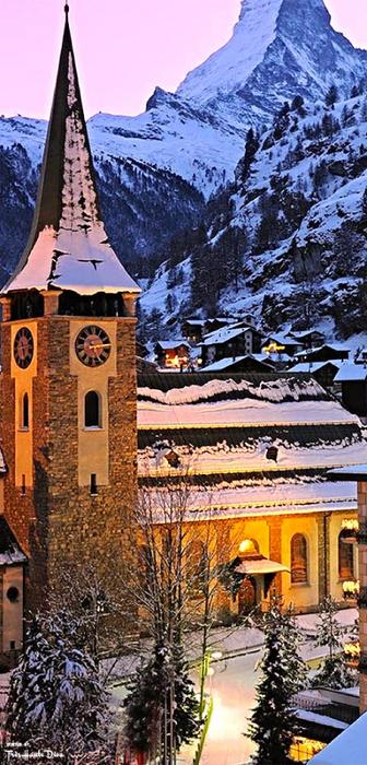 054_Zermatt Church,Switzerland (336x700, 355Kb)
