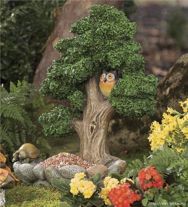 Миниатюрные скульптуры для волшебного сада. Идеи (14) (600x660, 324Kb)