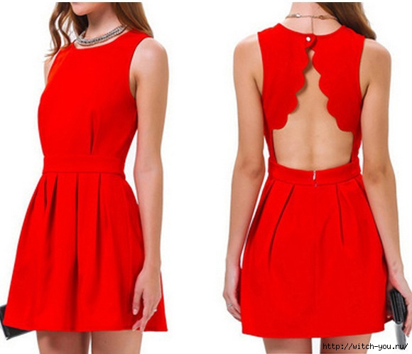 2015 Fashion Women Sexy Open Back Dresses Short Solid Ladies Summer Party Vestidoes Red Free Shipping/2493280_UT8Vc3zXbpdXXagOFbXf (580x498, 108Kb)