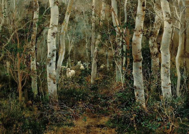 Bosque de álamos con rebaño en Aclalá de Guadaira_ Emilio Sánchez-Perrier (640x454, 445Kb)