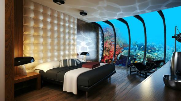 Номер в подвод. отеле Дубай (590x331, 163Kb)