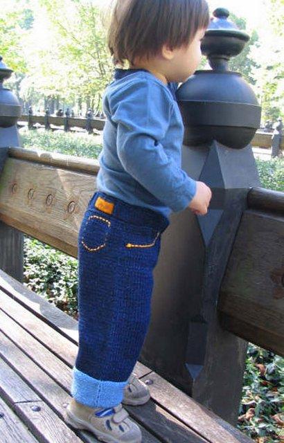 Вязание на спицах джинсы 668