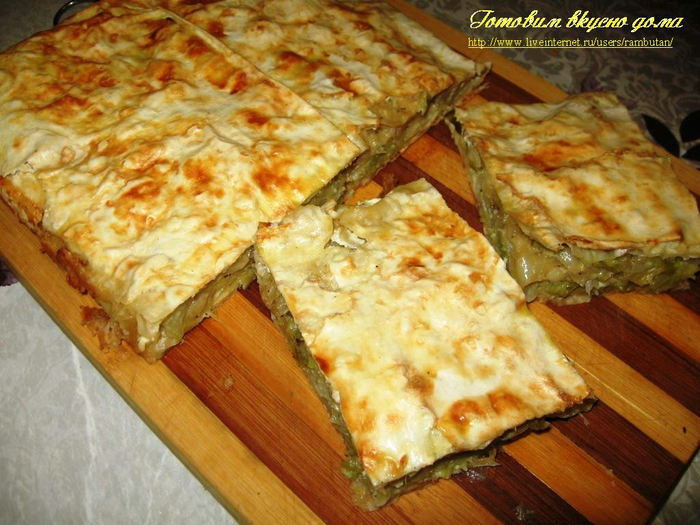 Фото рецепт торт из лаваша